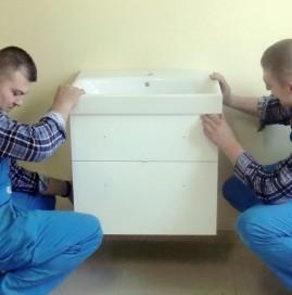 Montaż mebli łazienkowych