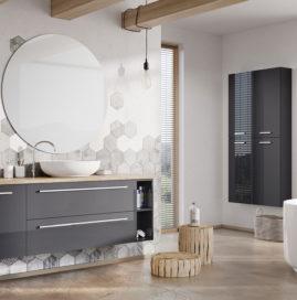 Kolekcja mebli łazienkowych Kwadro PLUS