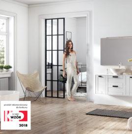 Kolekcja mebli łazienkowych INGE – rekomendowana do konkursu DOBRY WZÓR