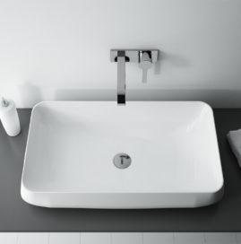 ATRAKCYJNE I ELEGANCKIE – umywalki nablatowe.