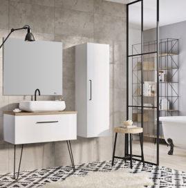 Meble łazienkowe Futuris - nowocześnie i z klasą