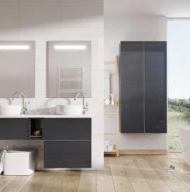Lustro łazienkowe LED Lina, funkcjonalna alternatywa dla nowoczesnego wnętrza.