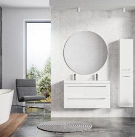 Kolekcja mebli łazienkowych, która łączy w sobie przeszłość, teraźniejszość i przyszłość - Kwadro PLUS.