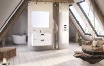Inge New. Kolekcja mebli łazienkowych przeznaczona dla zwolenników minimalizmu. Idealnie nasyci zmysł estetyczny.