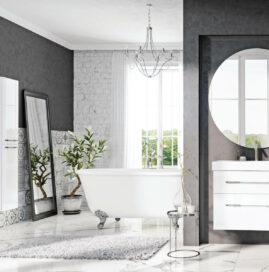 Łazienka w stylu glamour. Jak ją urządzić?
